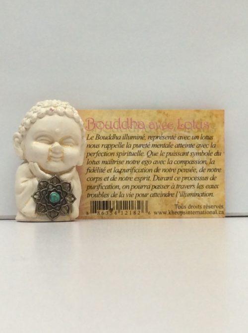 Bouddha avec lotus